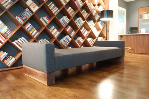 Diagonal bookcase design plans pdf woodworking for Read your bookcase buy
