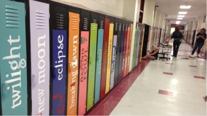 Avenue of Literature - lockers