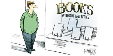 Books without batteries